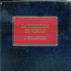 Libros antiguos: == AR53 - BIBLIOTECA EMPRESARIAL DEUSTO - LA DIRECCION DE VENTAS - J. STRAFFORD. Lote 106195983