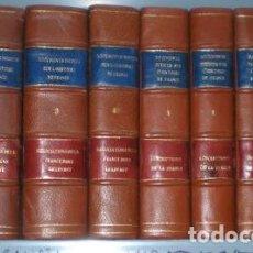 Libros antiguos: COLLECTION DE DOCUMENTS INÉDITS SUR L'HISTOIRE DE FRANCE. 9 VOLS. 1848-1879. Lote 106364371