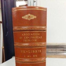 Libros antiguos: EX LIBRIS ASOCIACIÓN EX LIBRISTAS IBÉRICOS REVISTA MADRID 1952 VOLUMEN BOOKPLATE EDICIÓN LIMITADA. Lote 106448407