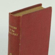 Libros antiguos: CONTES D'EN PATUFET. Lote 106586603