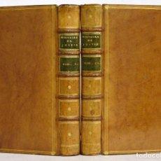 Libros antiguos: AÑO 1774 - HISTORIAS FILÍPICAS DE POMPEYO TROGO - JUSTINO - OBRA COMPLETA -2 TOMOS - LUJOSO EJEMPLAR. Lote 106604519