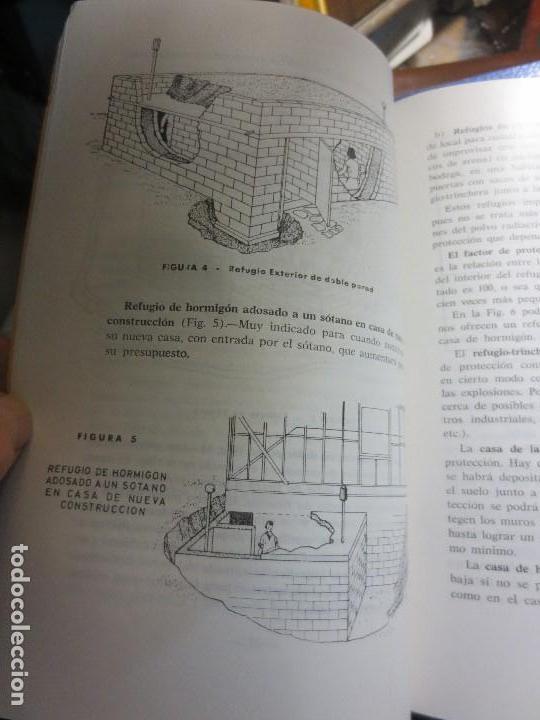 Libros antiguos: realizar REFUGIOS o bunker para PROTECCION en casa CIVIL CONSEJOS para casos extremos aislacion - Foto 4 - 106660923