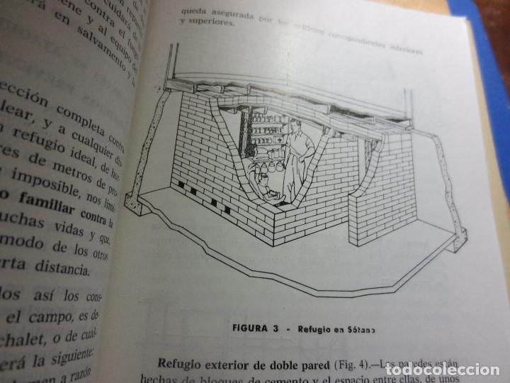 Libros antiguos: realizar REFUGIOS o bunker para PROTECCION en casa CIVIL CONSEJOS para casos extremos aislacion - Foto 5 - 106660923