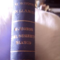 Libros antiguos: LA NOVELA AZUL, VOLUMEN ENCUADERNADO CON TRES NOVELAS, MUY BUENA CONSERVACION. Lote 106669743