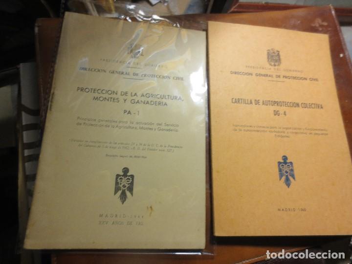 REFUGIOS ANTIGUOS LIBROS PROTECCION AGRICULTURA GANADERIA PERSONAL CIVIL MADRID 1965 (Libros Antiguos, Raros y Curiosos - Bellas artes, ocio y coleccionismo - Otros)