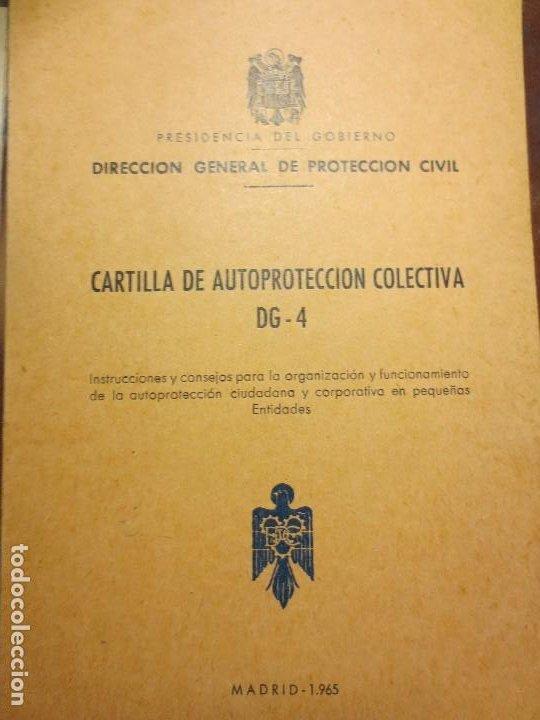 Libros antiguos: REFUGIOS antiguos libros proteccion agricultura ganaderia personal civil madrid 1965 - Foto 2 - 106673463