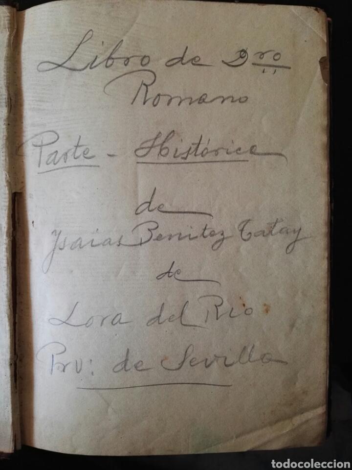 Libros antiguos: prolegómenos del derecho historia y elementos de derecho romano 1883 - Foto 4 - 106931612