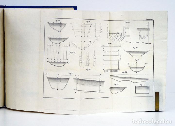 Libros antiguos: Celestino del Piégalo. Introducción al estudio de la arquitectura hidráulica. 1841. DEDIC. AUTÓGRAFA - Foto 3 - 107067807