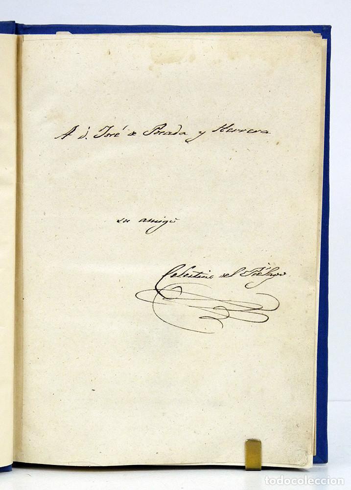 Libros antiguos: Celestino del Piégalo. Introducción al estudio de la arquitectura hidráulica. 1841. DEDIC. AUTÓGRAFA - Foto 4 - 107067807