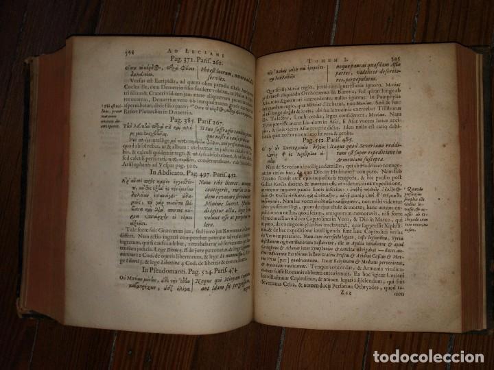 Libros antiguos: Iacobi Palmerii A Grentemesnii, Exercitationes in Optimos Fere. Autores Graecos. 1668 - Foto 7 - 107159407