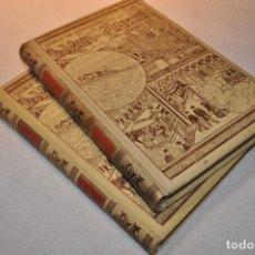 Libros antiguos: LA VIDA EN LA AMERICA DEL NORTE - PABLO DE ROUSIERS - MONTANER Y SIMÓN 2 TOMOS - 1899 - AHUM. Lote 107242355