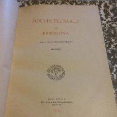 Libros antiguos: HOS. JOCHS FLORALS DE BARCELONA. 1907. BARCELONA. MUY CURIOSO. Lote 107263999