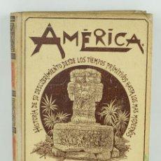 Libros antiguos: AMÉRICA, HISTORIA DE SU DESCUBRIMIENTO-RODOLFO CRONAU-ED.MONTANER Y SIMON, 1892-TOMO PRIMERO. Lote 107277123