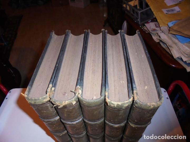 Libros antiguos: OBRAS DE DON MANUEL BRETON DE LOS HERREROS OBRA COMPLETA 5 TOMOS 1183-1884.IMPRENTA DE MIGUEL GINEST - Foto 3 - 107350827