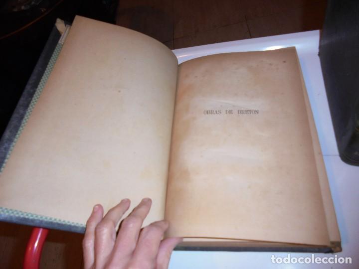 Libros antiguos: OBRAS DE DON MANUEL BRETON DE LOS HERREROS OBRA COMPLETA 5 TOMOS 1183-1884.IMPRENTA DE MIGUEL GINEST - Foto 13 - 107350827