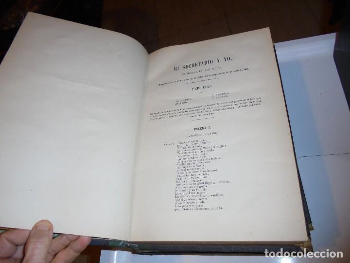 Libros antiguos: OBRAS DE DON MANUEL BRETON DE LOS HERREROS OBRA COMPLETA 5 TOMOS 1183-1884.IMPRENTA DE MIGUEL GINEST - Foto 29 - 107350827