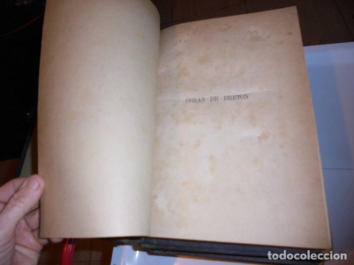 Libros antiguos: OBRAS DE DON MANUEL BRETON DE LOS HERREROS OBRA COMPLETA 5 TOMOS 1183-1884.IMPRENTA DE MIGUEL GINEST - Foto 37 - 107350827