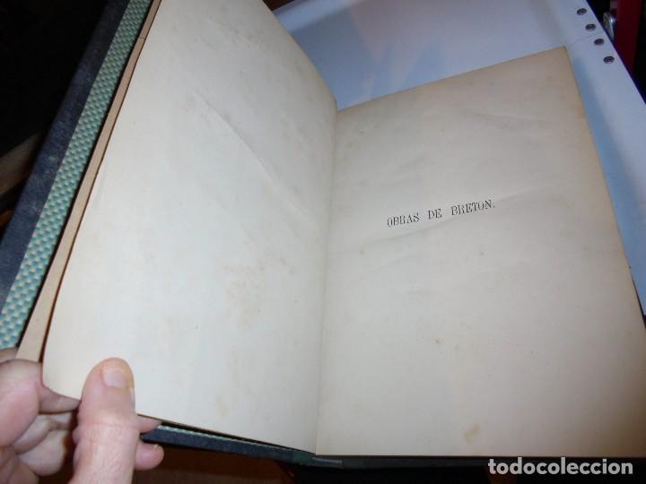 Libros antiguos: OBRAS DE DON MANUEL BRETON DE LOS HERREROS OBRA COMPLETA 5 TOMOS 1183-1884.IMPRENTA DE MIGUEL GINEST - Foto 44 - 107350827