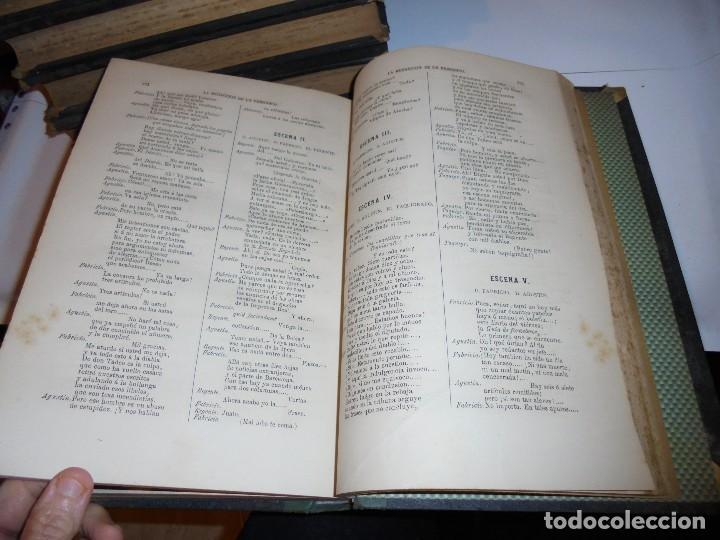 Libros antiguos: OBRAS DE DON MANUEL BRETON DE LOS HERREROS OBRA COMPLETA 5 TOMOS 1183-1884.IMPRENTA DE MIGUEL GINEST - Foto 51 - 107350827