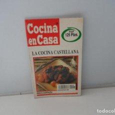 Libros antiguos: COCINA EN CASA IÑIGO AZPIAZU LA COCINA CASTELLANA . Lote 107441451