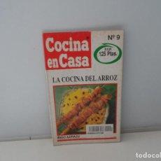 Libros antiguos: COCINA EN CASA IÑIGO AZPIAZU LA COCINA DEL ARROZ . Lote 107441587