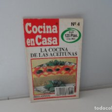 Libros antiguos: COCINA EN CASA IÑIGO AZPIAZU LA COCINA DE LAS ACEITUNAS Nº 4. Lote 107442391