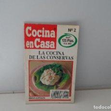 Libros antiguos: COCINA EN CASA IÑIGO AZPIAZU LA COCINA DE LAS CONSERVAS Nº 2. Lote 107442519