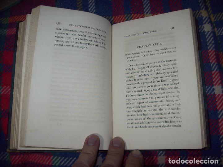Libros antiguos: THE ADVENTURES OF HAJJI BABA,OF ISPAHAN,IN ENGLAND. 2 VOLÚMENES. JOHN MURRAY. 1828. UNA JOYA!!!!! - Foto 31 - 107546663