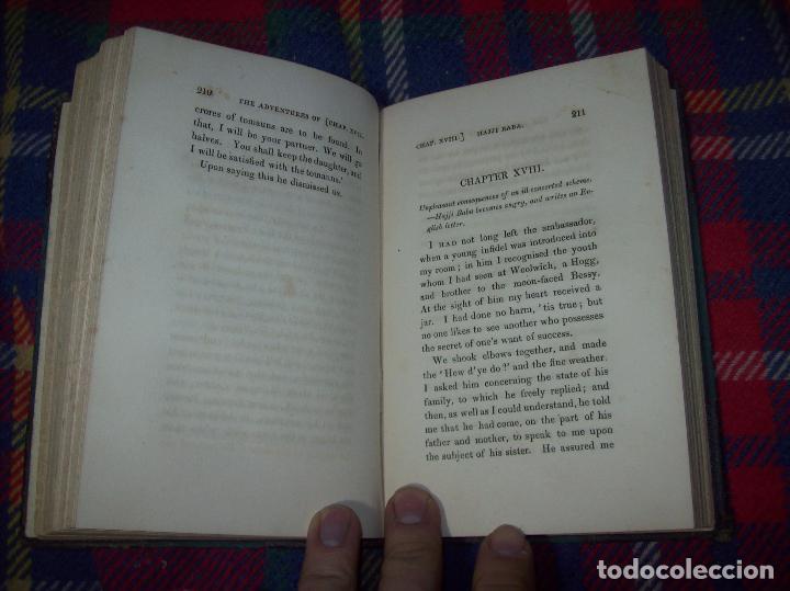 Libros antiguos: THE ADVENTURES OF HAJJI BABA,OF ISPAHAN,IN ENGLAND. 2 VOLÚMENES. JOHN MURRAY. 1828. UNA JOYA!!!!! - Foto 39 - 107546663