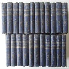 Libros antiguos: LOS EPISODIOS NACIONALES - 23 TOMOS - B. PEREZ GALDOS . Lote 107577147