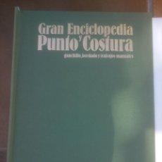 Libros antiguos: GRAN ENCICLOPEDIA PUNTO Y COSTURA. PATRONES Y CALCOS SARPE. COMPLETO. Lote 107595715