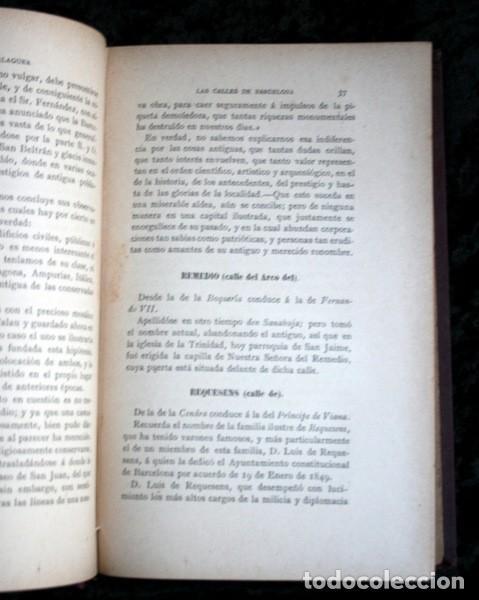 Libros antiguos: LAS CALLES DE BARCELONA EN 1865 - LA PRIMAVERA DEL ULTIMO TROVADOR - BALAGUER - 1888 - Foto 6 - 107648439