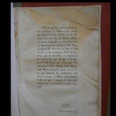 Libros antiguos: CONSEJO DE GUERRA AL INTENDENTE D. FRANCISCO DE OTEYZA. Lote 107649595