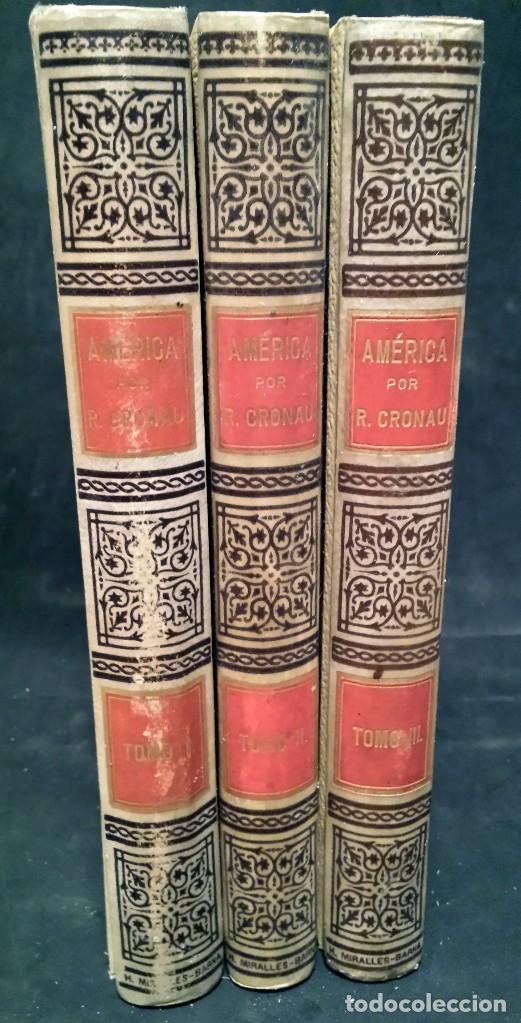 Libros antiguos: AMERICA. HISTORIA DE SU DESCUBRIMIENTO DESDE LOS TIEMPOS PRIMITIVOS HASTA LOS MAS MODERNOS. año-1892 - Foto 2 - 94267955
