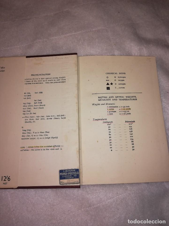 Libros antiguos: diccionario de palabras científicas y tecnicas, en inglés, 1952, 1300 ilustraciones - Foto 2 - 107762211