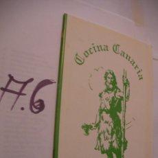 Libros antiguos: COCINA CANARIA. Lote 107802131
