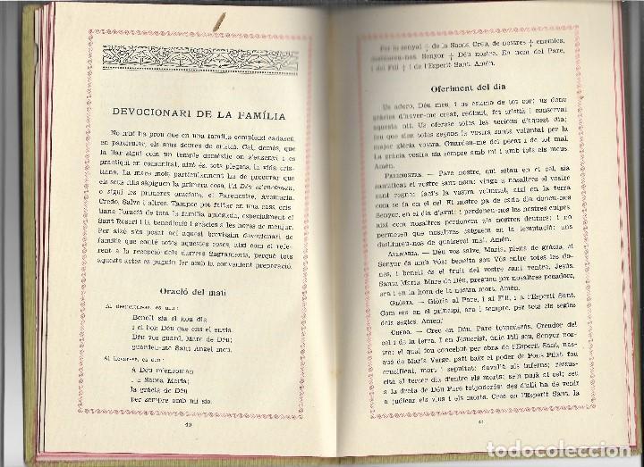 Libros antiguos: LLIBRE DE LA FAMILIA - FOMENT DE PIETAT - BARCELONA - 1936 - Foto 5 - 107859463