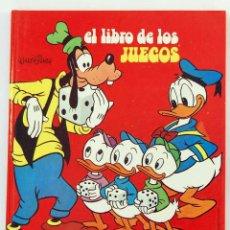 Libros antiguos: EL LIBRO DE LOS JUEGOS - WALT DISNEY. Lote 187615870