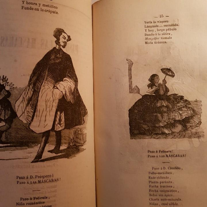 Libros antiguos: EL CARNAVAL DE BARCELONA EN 1860. ..CLAVÉ, J. A. y TORRES, J. M. -1860. - Foto 6 - 91026070