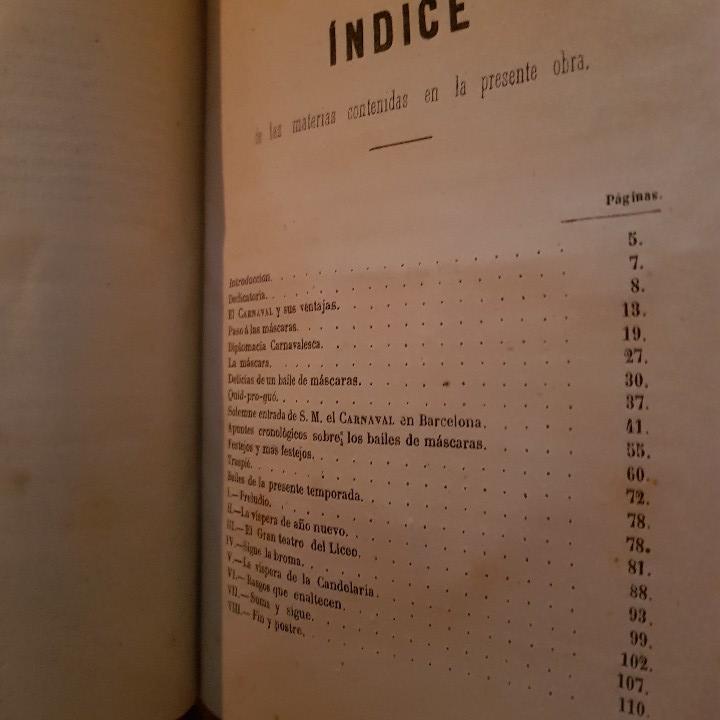 Libros antiguos: EL CARNAVAL DE BARCELONA EN 1860. ..CLAVÉ, J. A. y TORRES, J. M. -1860. - Foto 8 - 91026070