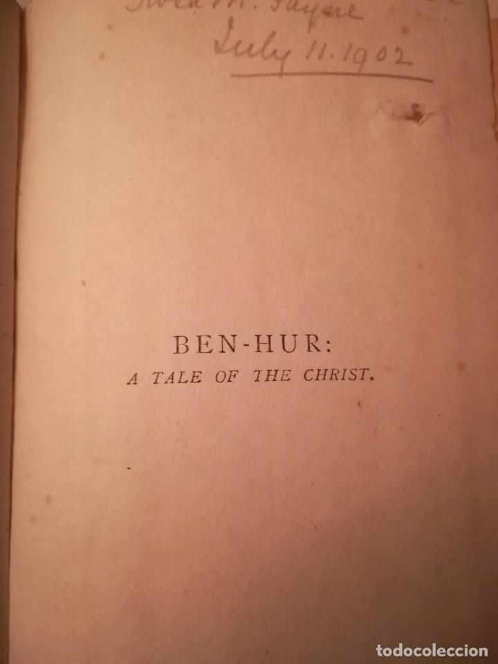 Libros antiguos: Ben Hur a tale of the Christ, por Lew Wallace, 1903, en inglés - Foto 2 - 108027199