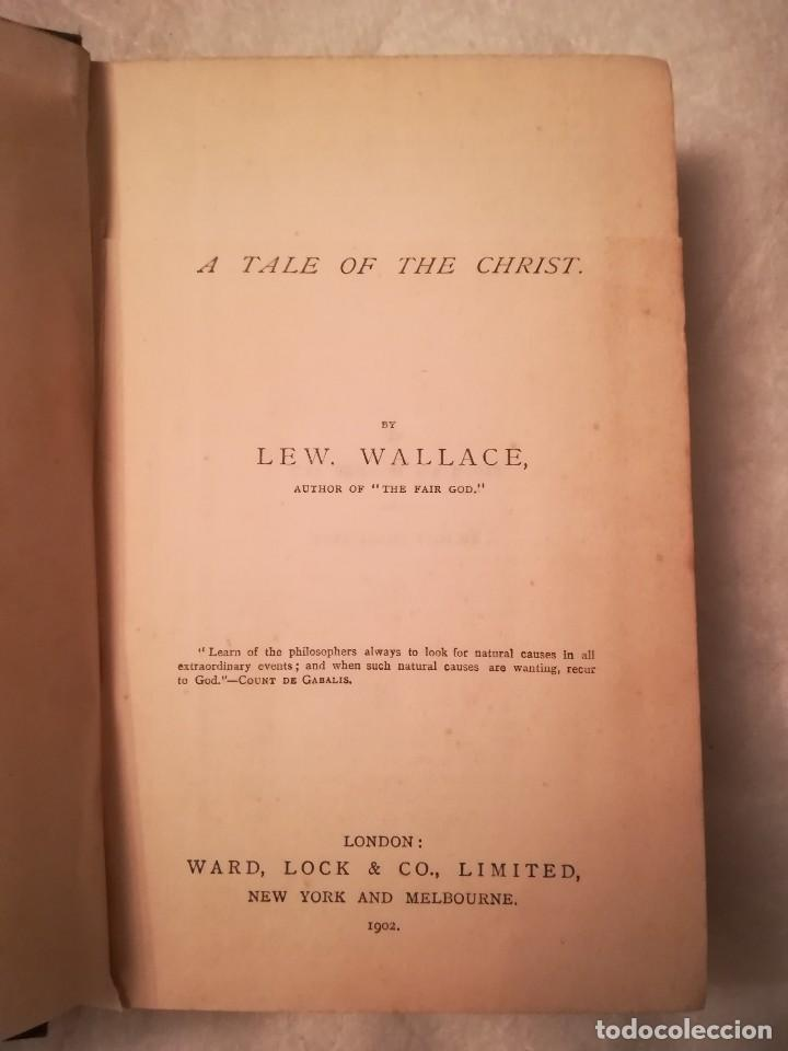 Libros antiguos: Ben Hur a tale of the Christ, por Lew Wallace, 1903, en inglés - Foto 3 - 108027199