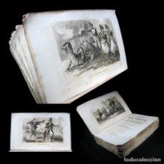Libros antiguos: AÑO 1846 COSTUMBRES DE LA CHINA PERSIA EGIPTO ARABIA INDIA 33 IMPONENTES GRABADOS A PLENA PÁGINA. Lote 108027583