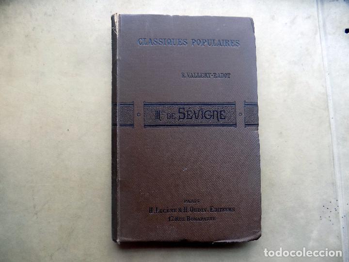 MADAME DE SEVIGNE. R. VALLERY- RADOT. LIBRERIA GUTENBERG. CLASSIQUES POPULAIRES. 1889. PARIS (Libros Antiguos, Raros y Curiosos - Otros Idiomas)