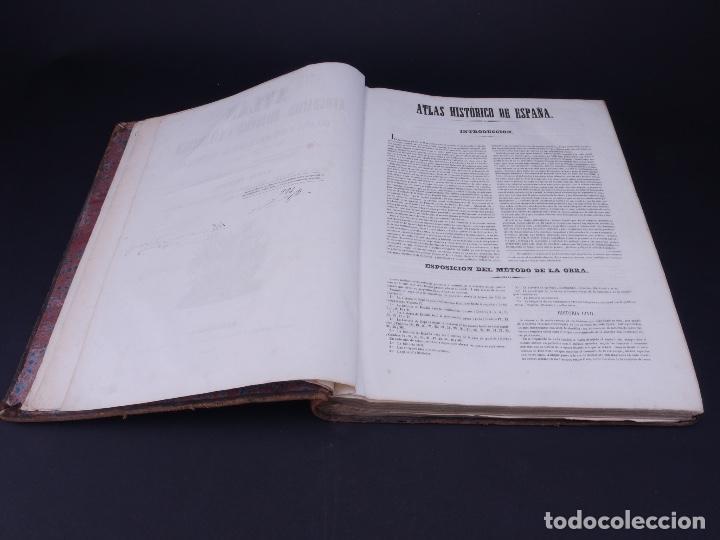 Libros antiguos: ATLAS GEOGRAFICO, HISTORICO Y ESTADISTICO. ESPAÑA Y SUS POSESIONES DE ULTRAMAR, 1848 - Foto 4 - 108081031
