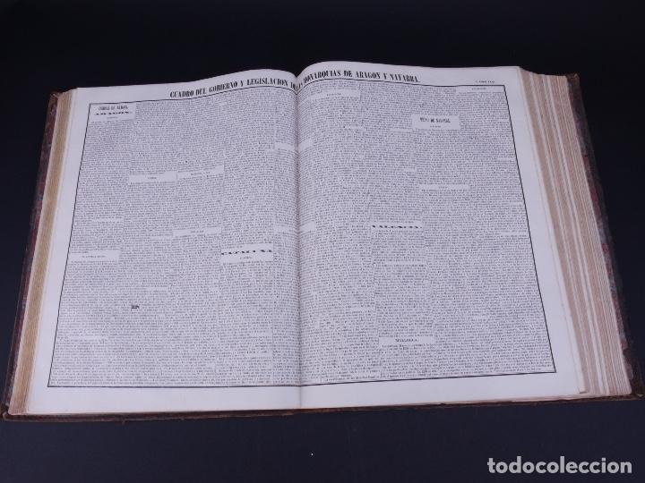 Libros antiguos: ATLAS GEOGRAFICO, HISTORICO Y ESTADISTICO. ESPAÑA Y SUS POSESIONES DE ULTRAMAR, 1848 - Foto 9 - 108081031