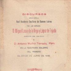 Libros antiguos: MIGUEL LASSO DE LA VEGA. LAS PIEDRAS DEL PASADO. (CASAS Y BLASONES SEVILLANOS). SEVILLA, 1922. Lote 108202671