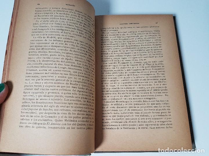 Libros antiguos: COMEDIAS ESCOGIDAS ( LEANDRO FERNÁNDEZ DE MORATÍN ) AÑO 1884 - Foto 3 - 108257203