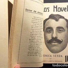 Libros antiguos: LOS NOVELES (AÑO I, NÚMS. 30-40) 1916. REVISTA SEMANAL CONSAGRADA A LA JUVENTUD LITERARIA.... Lote 108264527