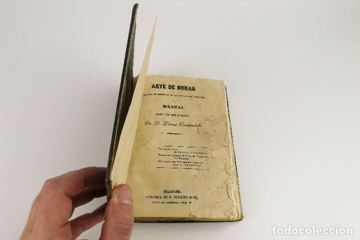 Libros antiguos: Dímas,Camándula- Arte de Robar explicado en beneficio de los que no son ladrones- año 1.844 - Foto 5 - 108287127